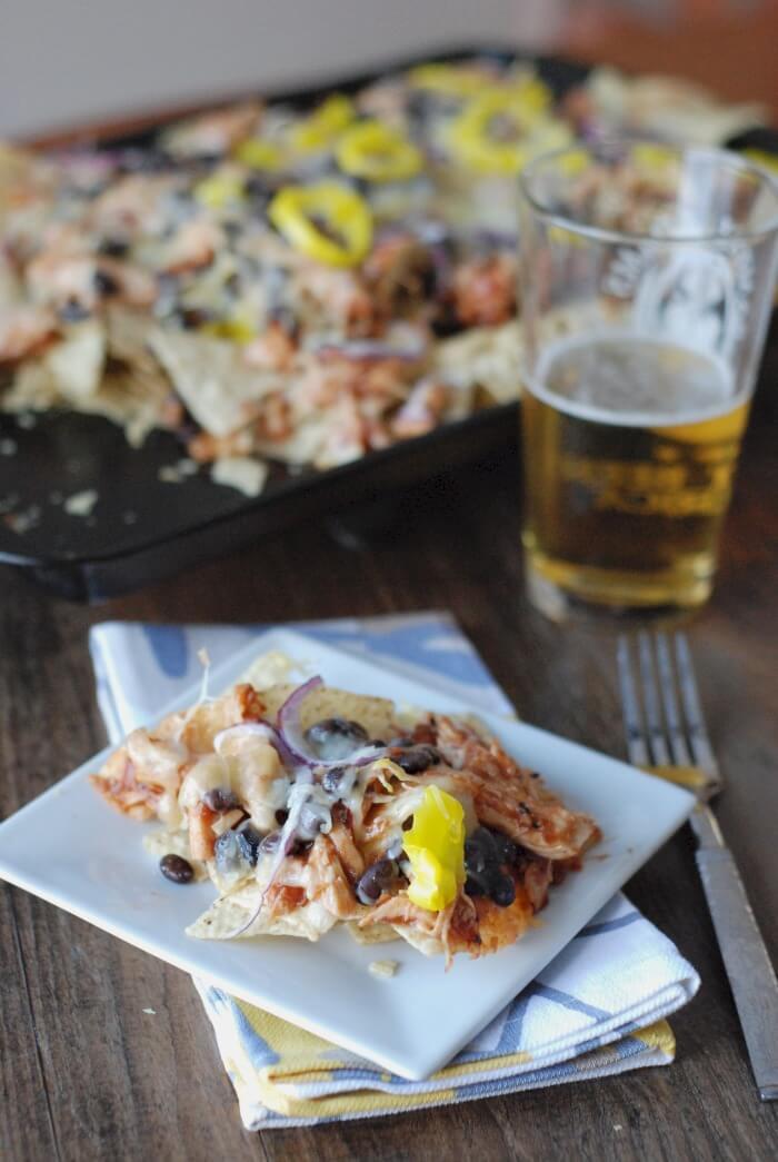 Nacho Day - Recipes - Appliance City - BBQ Chicken Chipotle Nachos