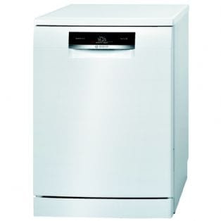 £100 cash back - Bosch SMS88TW01G 60cm Freestanding Dishwasher | Appliance City