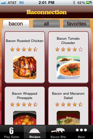 baconnection app