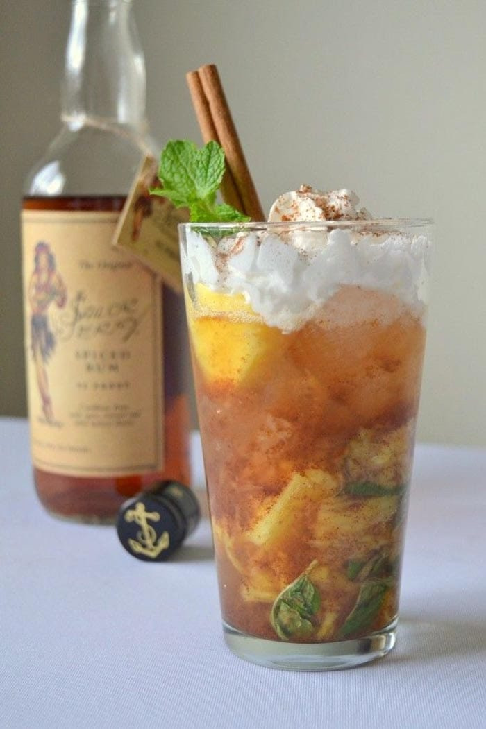 New Years Eve - Cocktails and Hangovers - Recipes - Cinnamon Mojito