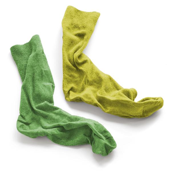 A pair of dirty socks