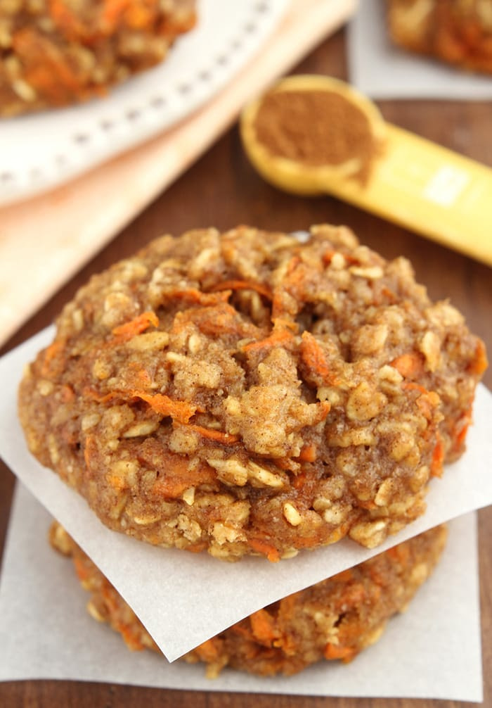 Carrot Cake Oatmeal Cookies - Cookie Day - Recipes - Appliance City