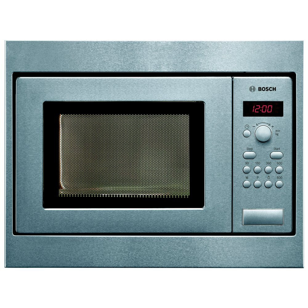 Bosch Hmt75m551b Serie 2 50cm Built In Microwave For Wall Unit Stainless Steel Appliance City