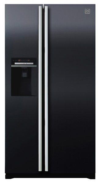 Daewoo FRAX22D3B American Style Fridge Freezer with ice and water