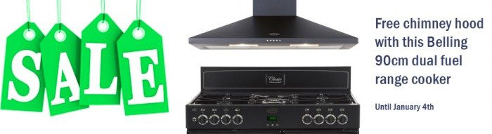 Belling Cooker with free cooker hood