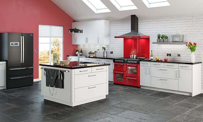 Stoves Range Cooker - Jalapeno Red - Appliance City