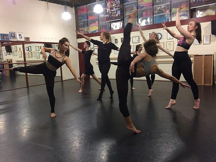 Nocturne Vinyl Dance Floor at Marilyn Baker School of Dance