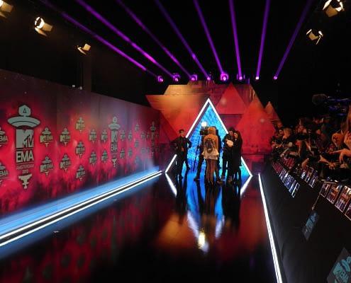 StudioTak High Gloss Black Floor (MTV Awards)