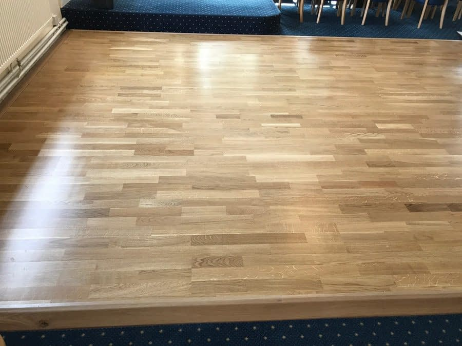 Meadow™ Sprung Dance Floor at Peterborough Conservative Club
