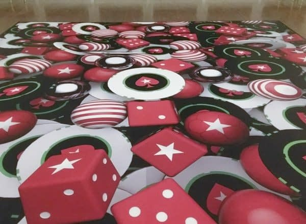 Custom Printed Floor for Event Lighting Services