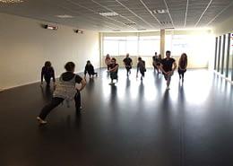 Aspire School of Dance on Woodland Sprung Dance Floor