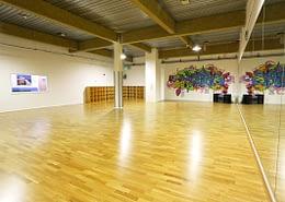Meadow Sprung Dance Floor at Brighton Marina Studios