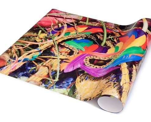 Custom Printed Floor - Example