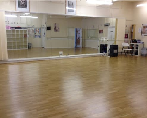 Meadow Wood Sprung Dance Floor 2 Years On at Barbara Mann