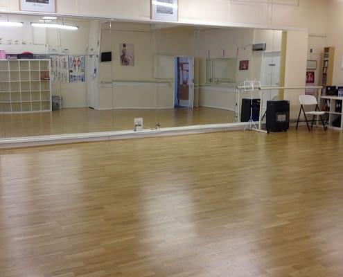 Meadow Sprung Dance Floor at Barbara Mann