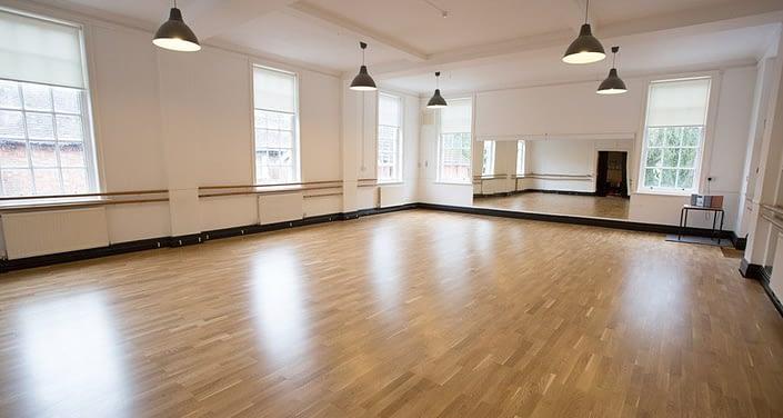 Meadow™ Sprung Floor at Kings Performing Arts College