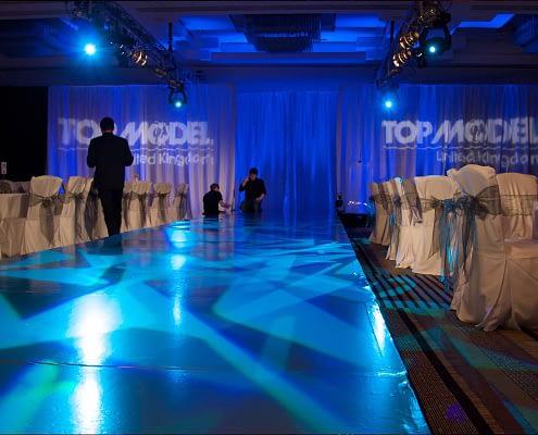 StudioTak™ High Gloss Black CatWalk Top Model