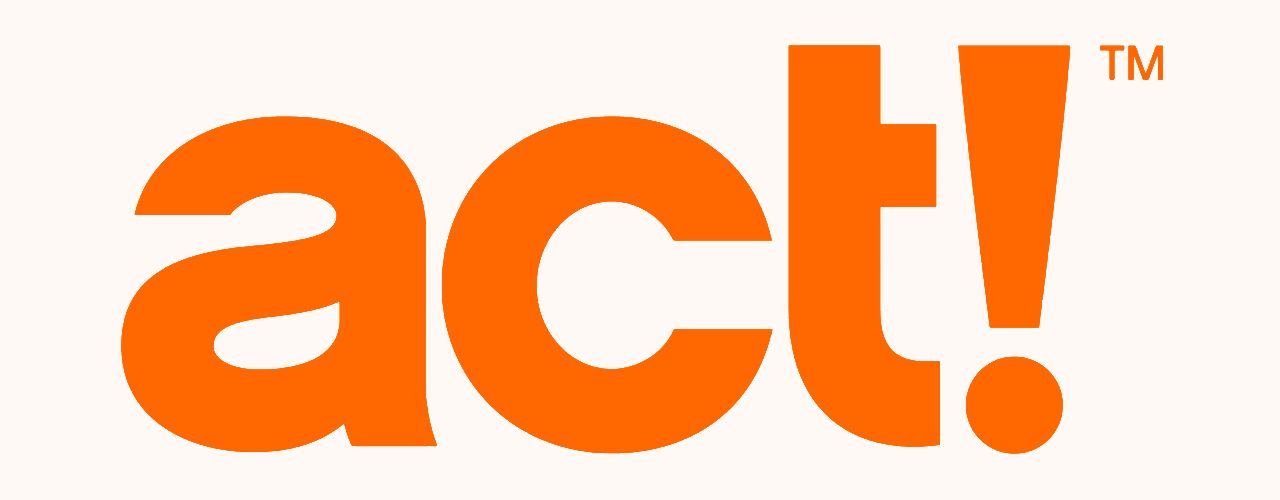 Act single logo orange