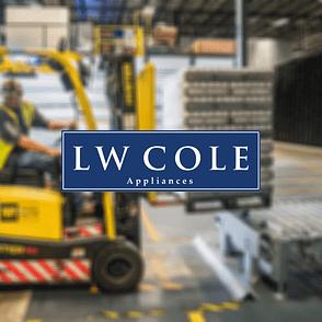 LW Cole Appliances logo