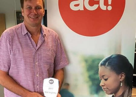 will ingleby accepting act swiftpage award