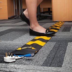 Dirty Rigger Carpet Crawler Cable Cover (In use)