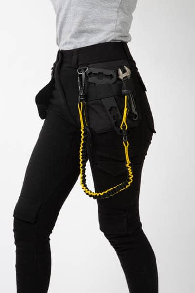 Women's workwear trousers front close