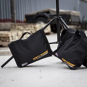 Dirty Rigger 6kg Shot Bags (Lifestyle Shot)