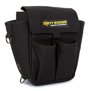 Dirty Rigger Tech Pouch 2.0 Tool Bag (Front view)