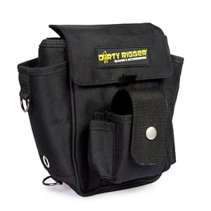 Dirty Rigger Tech Pouch Tool Bag (Front view)