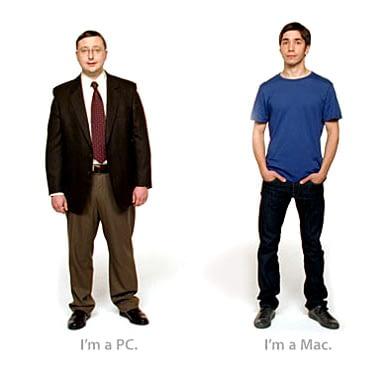 I'm a Mac vs I'm a PC