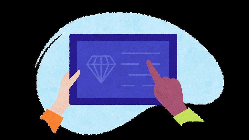 Collaboration on an ipad