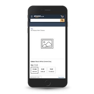 Imagining Amazon website without images