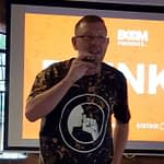 Wayne Barker talking at Drink Digital, Nottingham