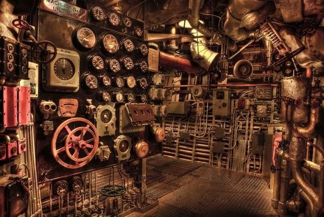 battleship engine room