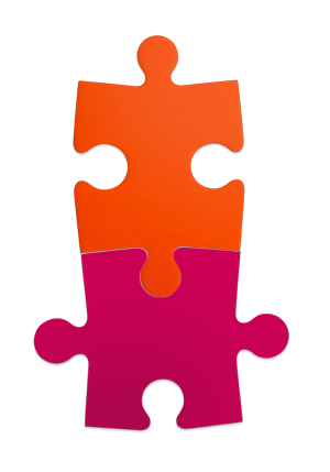 A two-piece puzzle