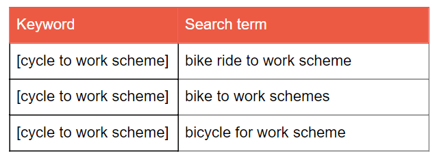 Paid Search Campaign Search Term