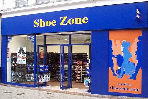 shoezone shop front