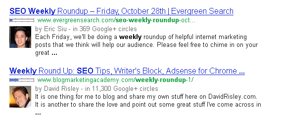 locating link building round up opportunities