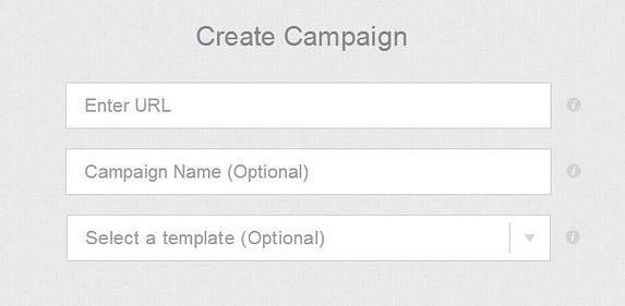 StumbleUpon Create Campaign