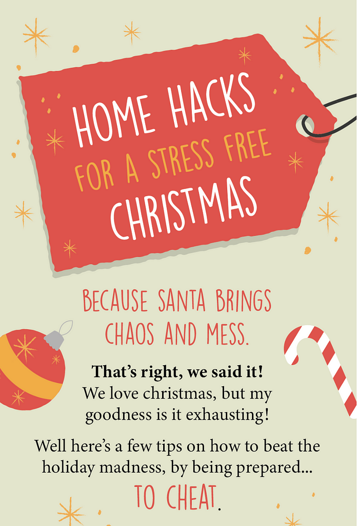 Christmas Home Hacks - Content Marketing: Planning & Optimising for Outreach - Boom Online Marketing