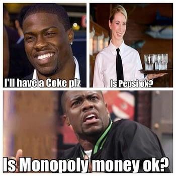 Is Pepsi OK meme