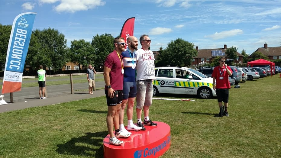 Martin Baxter at the UK Corporate Games