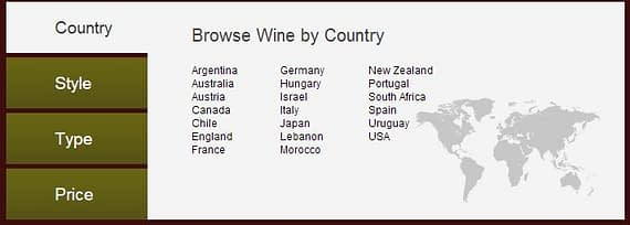 Narrowing down wine choices