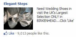 Elegant shoes Facebook ad