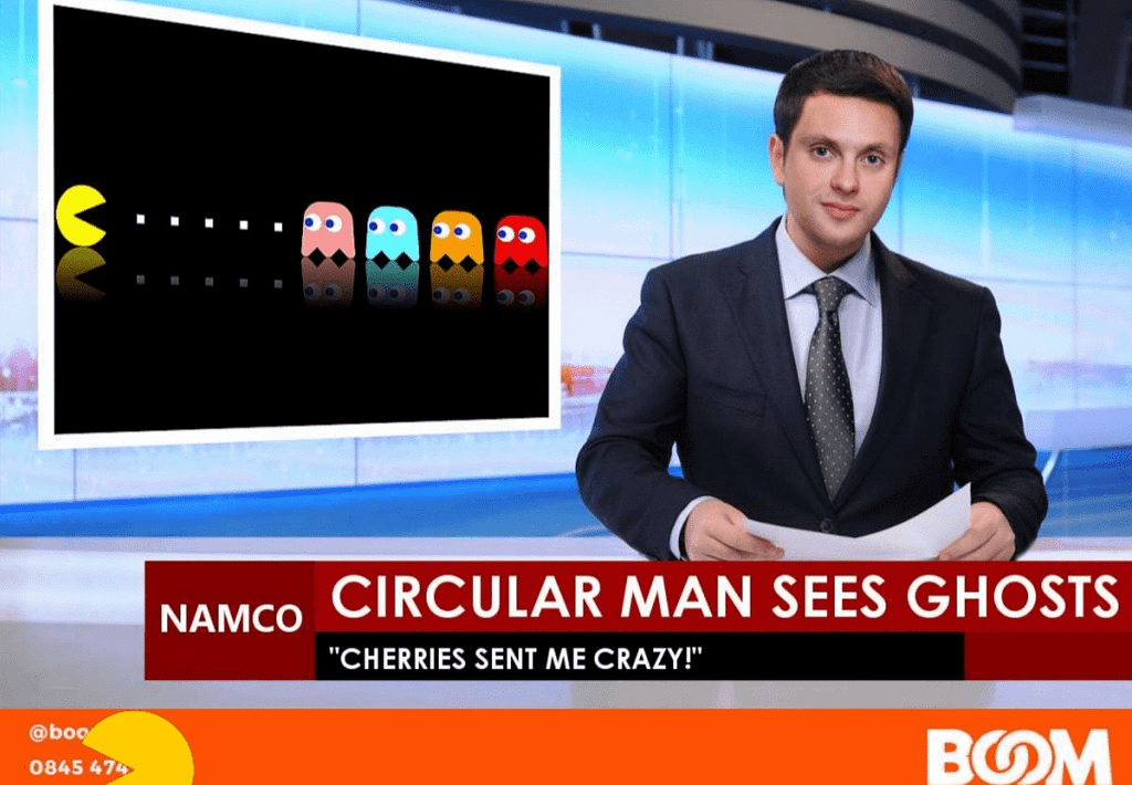 Pacman on the news