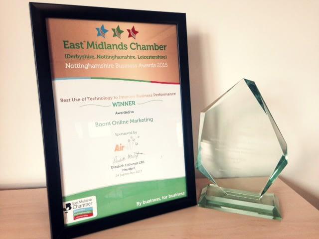 East Midlands Chamber Award