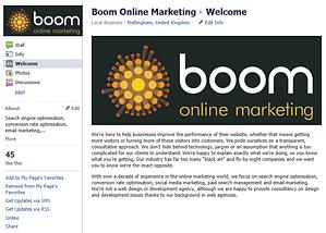 boom online facebook page